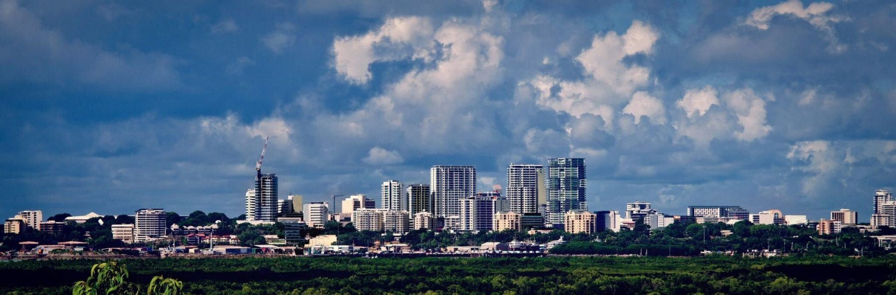 City landscape of Darwin Northern Territory
