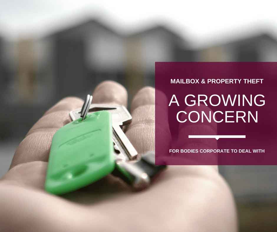 Growing Concern in Mailbox and Property Threat