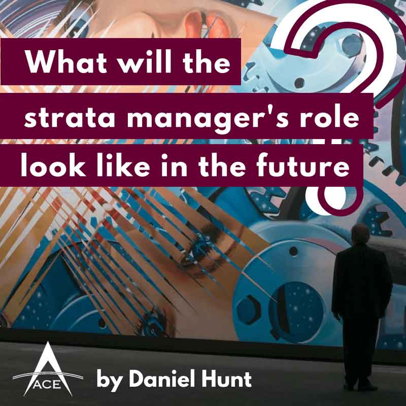 What will the strata manager's role look like in the future?