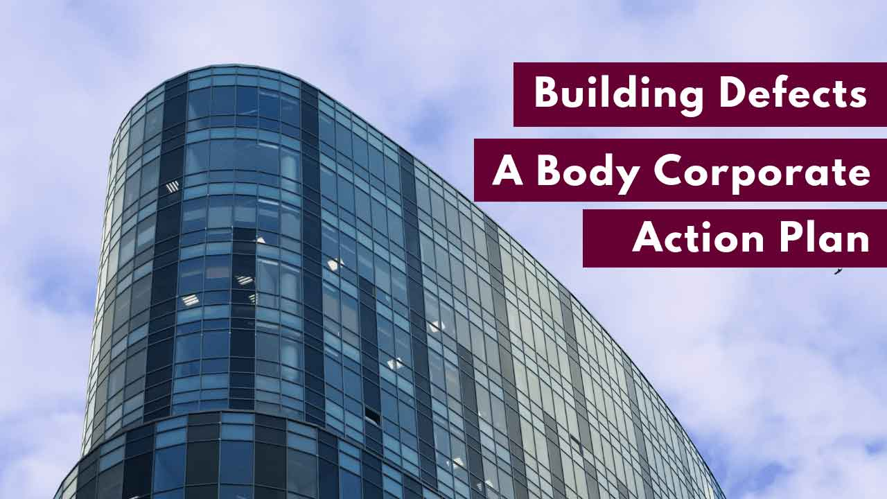 body corporate plan for building defects