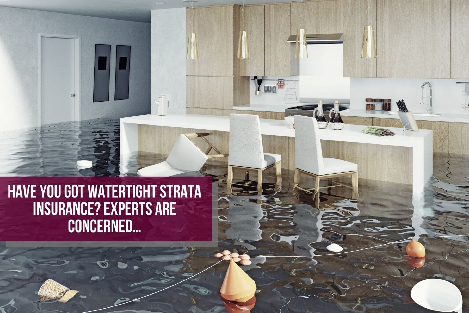 Water damage in strata property