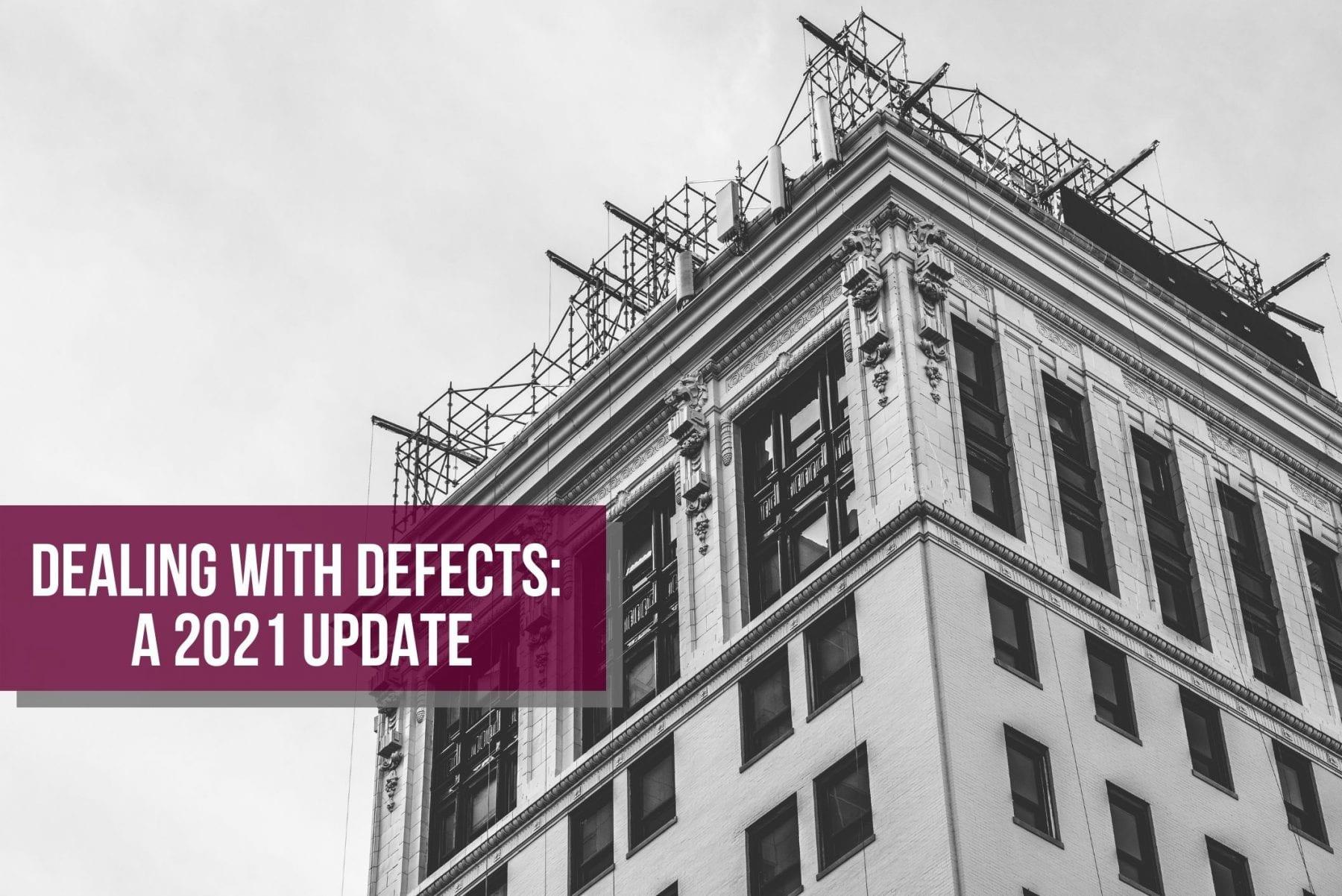 Strata building defect